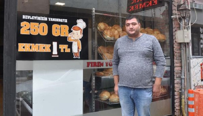 Ekmeğin fiyatını indirdi işleri yüzde 40 arttı