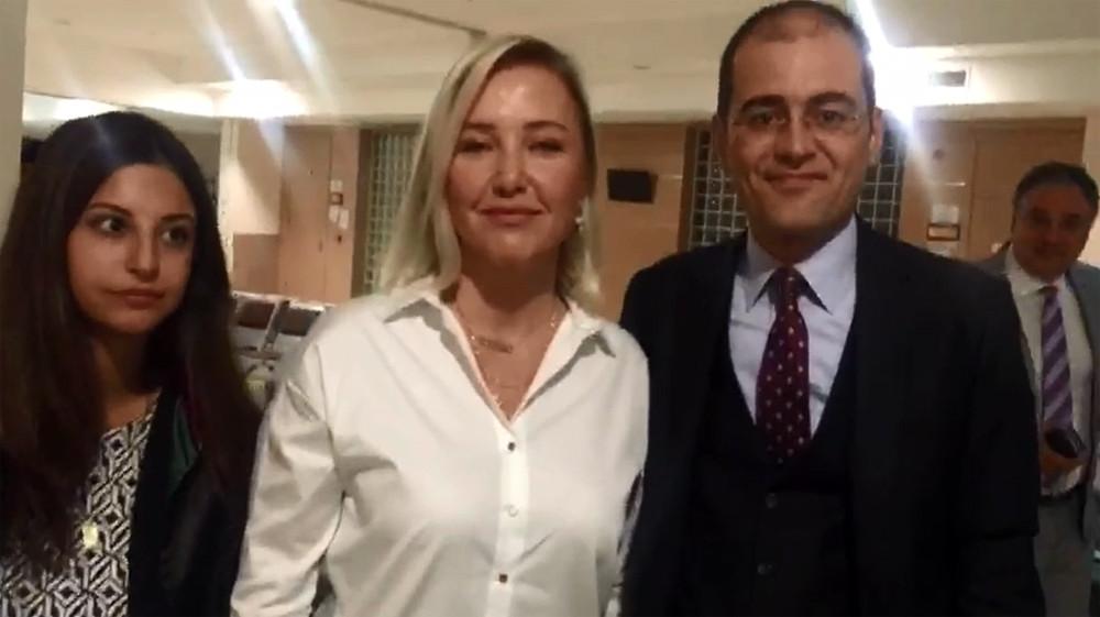 Berna Laçin'in idam tweetinin davası başladı