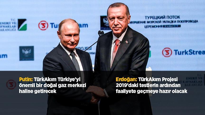 TürkAkım Projesi'nin deniz bölümü tamamlandı