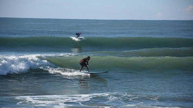 Alanya'da aralık ayında sörf
