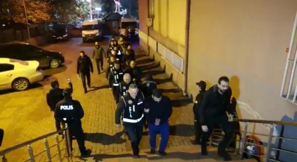 Avukat ve polislerin suç örgütüne operasyon