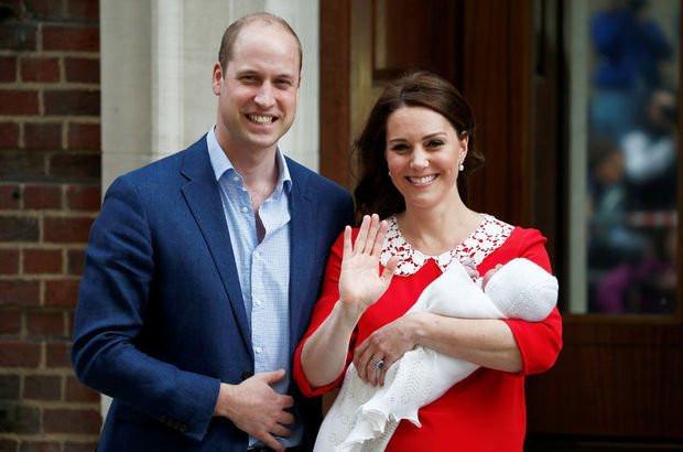 Kraliyet ailesinin yeni üyesi... Kate Middleton'ın bebeğinin ismi ne?