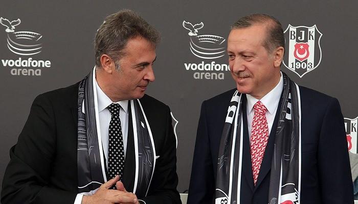 Beşiktaş, Recep Tayyip Erdoğan'ı tebrik etti