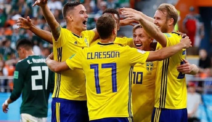 İsveç ve Meksika son 16'da