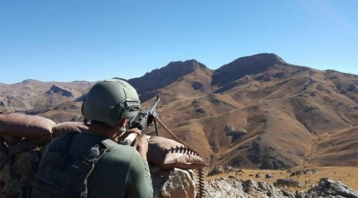 PKK'dan alçak pusu: 1 şehit, 3 yaralı