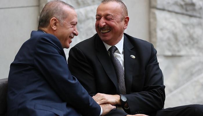 Recep Tayyip Erdoğan, İlham Aliyev'le görüştü