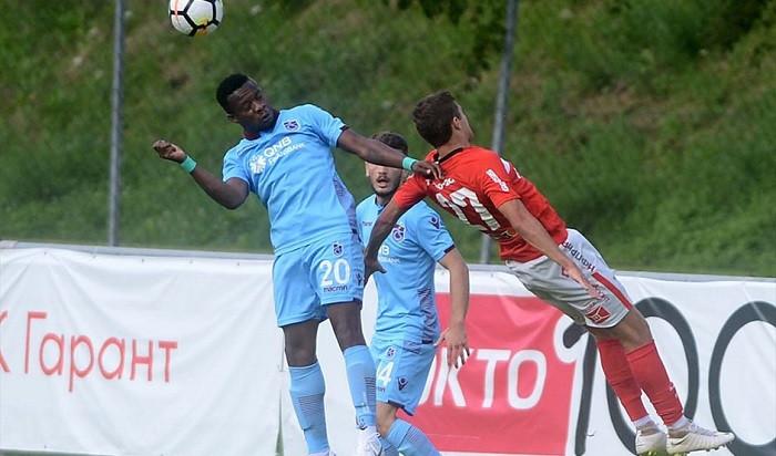 Trabzonspor Spartak Moskova'ya kaybetti: 4-1