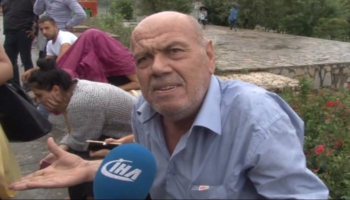 Çöken binada yaşayan vatandaş isyan etti: Belediyeye başvurduk kimse umursamadı