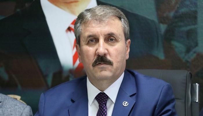 Mustafa Destici: Bağımsızlığımıza hiçbir alanda dokundurtmayız