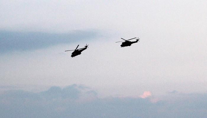 TSK yaralılar için helikopterleri havalandırdı