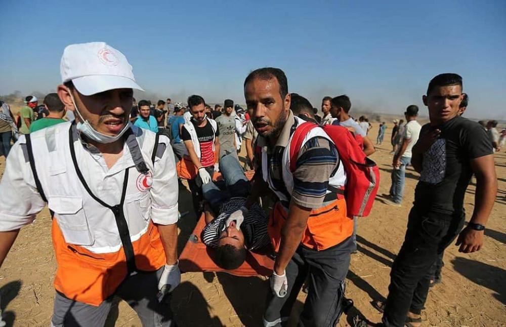 İsrail Gazze'de göstericilere saldırdı! 2 ölü 270'den fazla yaralı var