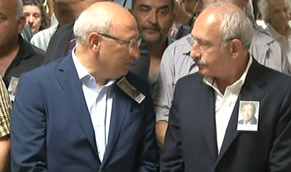 Kılıçdaroğlu Baki Özilhan'ın cenaze törenine katıldı