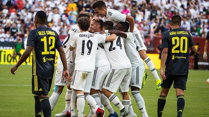 Real Madrid Juventus karşısında galip! Barcelona kaybetti