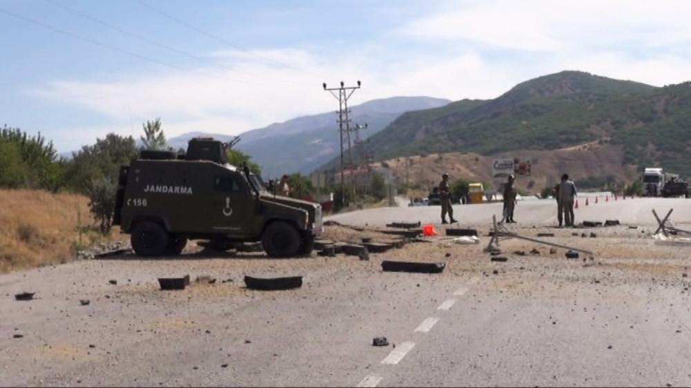 Teröristlerle sıcak temas: 1 asker yaralandı