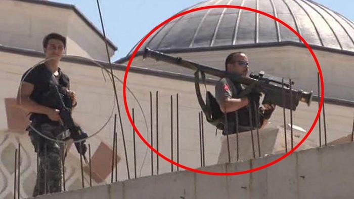 Erdoğan'ın Çamlıca Camisi ziyaretinde hava savunma füzesi detayı