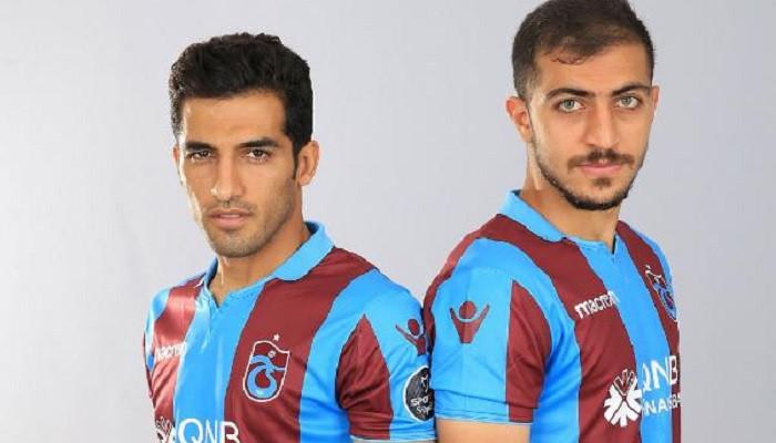 Trabzonsporlu Vahid Amiri ve Majid Hosseini şampiyonluk hedefliyor