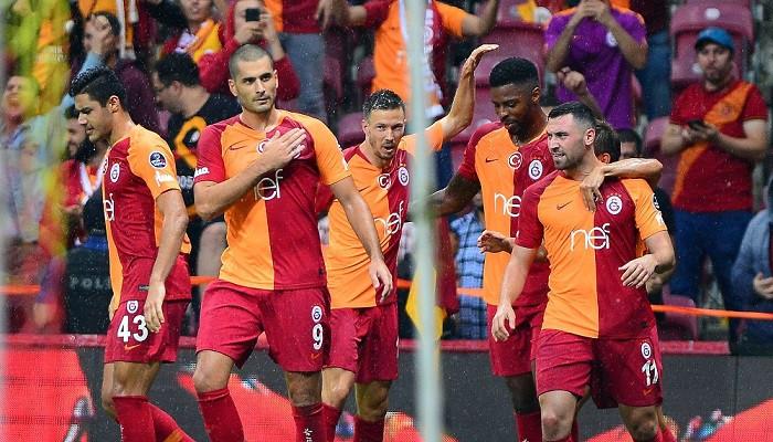 Galatasaray Süper Lig lideri Kasımpaşa'ya gol oldu yağdı
