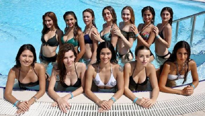 Akdeniz Güzelini Arıyor'un kraliçe adayları kampa girdi