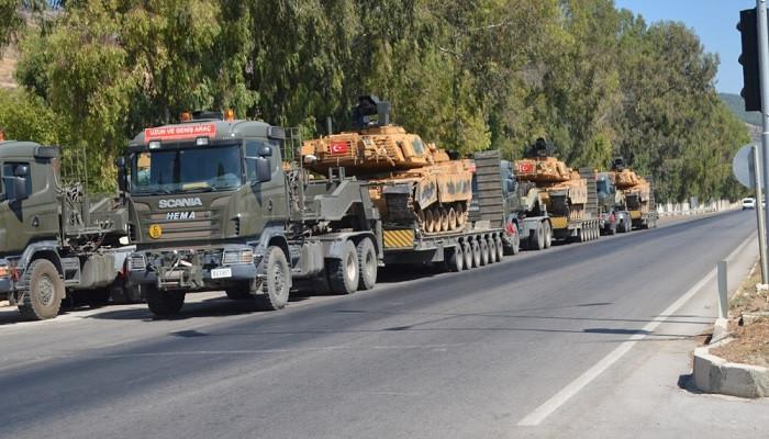 M-60 T tanklarının Suriye sınırına sevkiyatı sürüyor