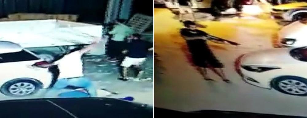 Güvenlik müdürünün vahşice öldürüldüğü cinayet kamerada
