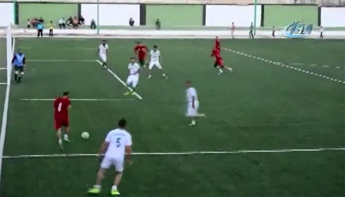 TSK'nın terörden temizlediği El Bab'da futbol heyecanı