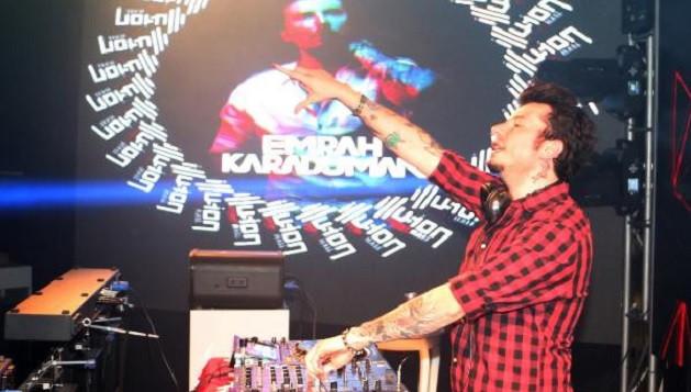 Alanya yeni yıla ünlü DJ'lerle girdi