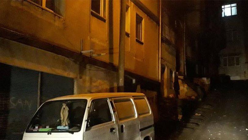 Beyoğlu'ndaki ev yangının arkasından kadın cinayeti çıktı