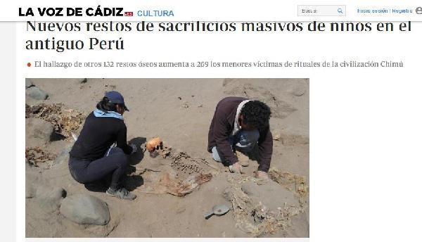 Tarihin en büyük insan kurban töreni! Kalıntılar ortaya çıkarılıyor