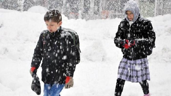 Yozgat ve Nevşehir'de okullar tatil oldu