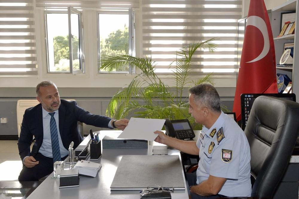 Mustafa Akıncı ölüm tehditleri nedeniyle polise başvurdu