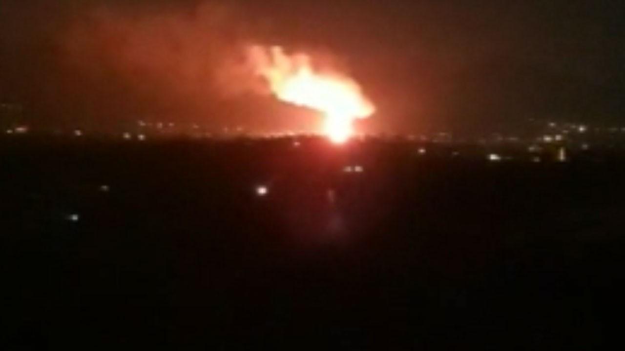 Şanlıurfa'da 20'nci Zırhlı Tugay Komutanlığı silah deposunda patlama