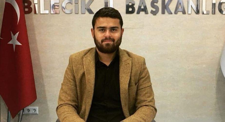 AK Parti'de şok: Bilecik Gençlik Kolları Başkanı istifa etti