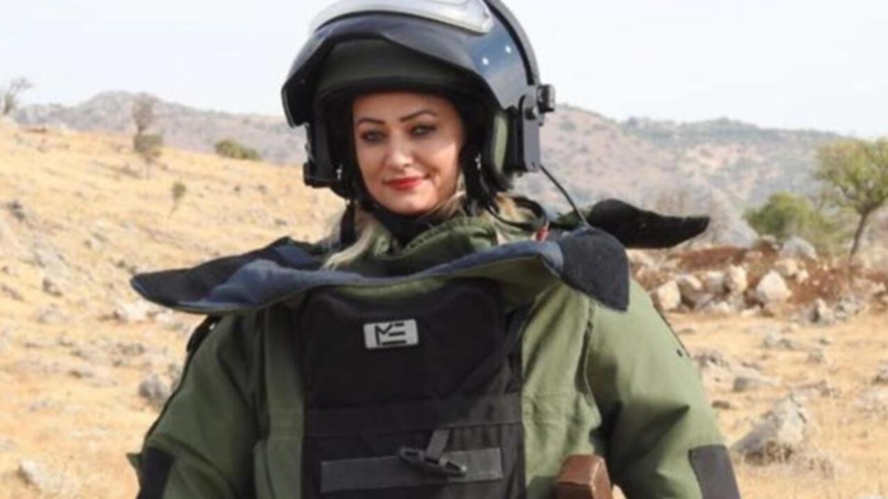 Bomba uzmanı şehit Esra Çevik'in Görüntüleri: Barut Kokusu, Parfüm Kokusu