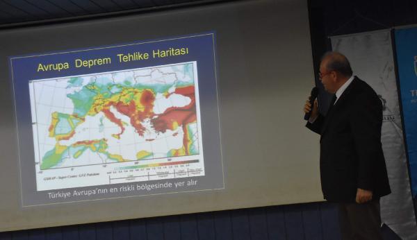 Prof.Dr. Ersoy: Marmara'da 10 yıl içinde 7'den büyük bir deprem bekleniyor