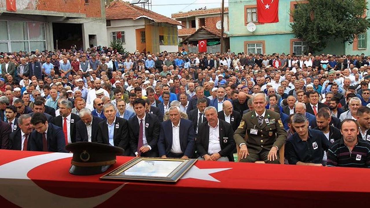 Cumhurbaşkanı Erdoğan'dan Şehit Binbaşı Akkuş'un eşine taziye telefonu