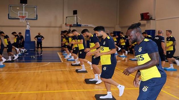 Fenerbahçe denge, dayanıklılık ve kuvvet çalıştı