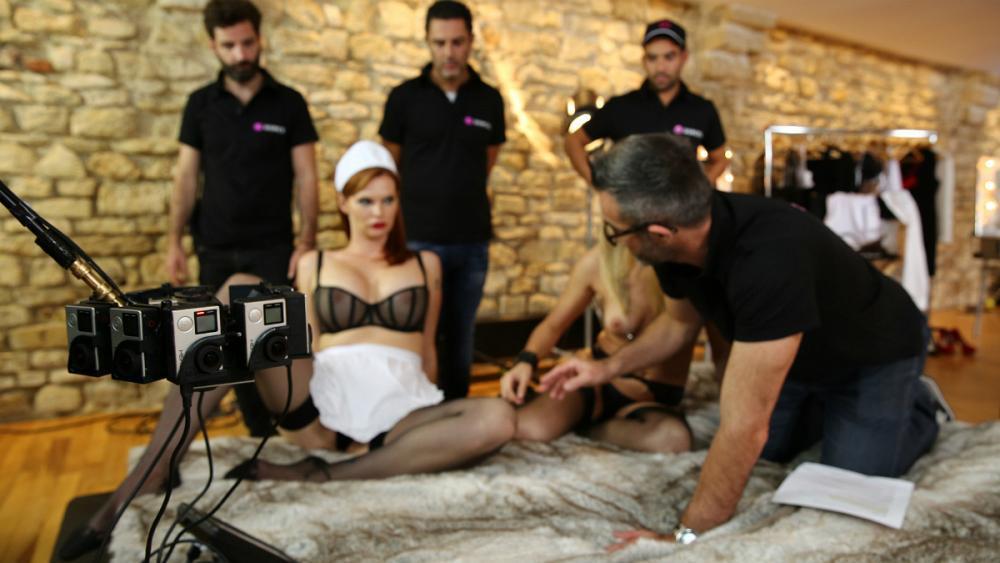Behind the scenes porn pics