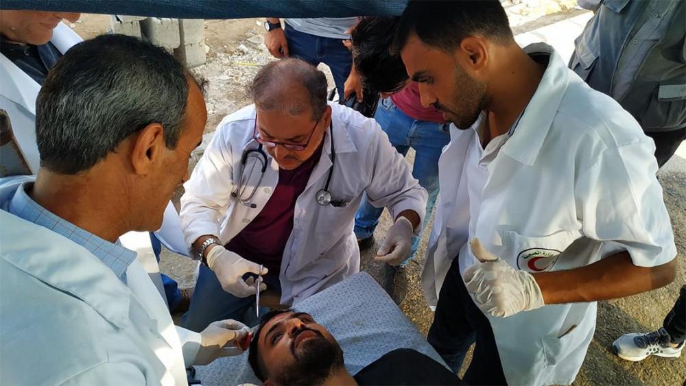 İsrail askerleri AA foto muhabirini başından vurdu!