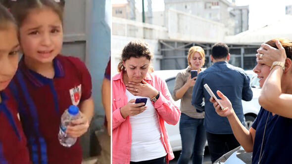 İstanbul'da deprem paniği: Herkes sokaklara koştu