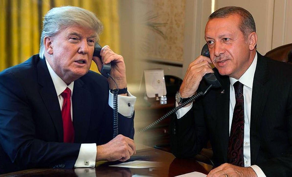 Erdoğan ile Trump arasında kritik telefon görüşmesi
