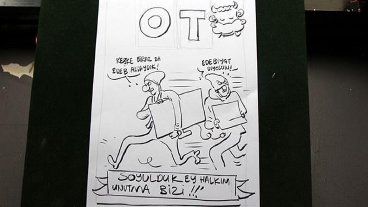 OT dergisinin ofisine hırsız girdi: Bugüne kadar yaptığımız her şey gitti