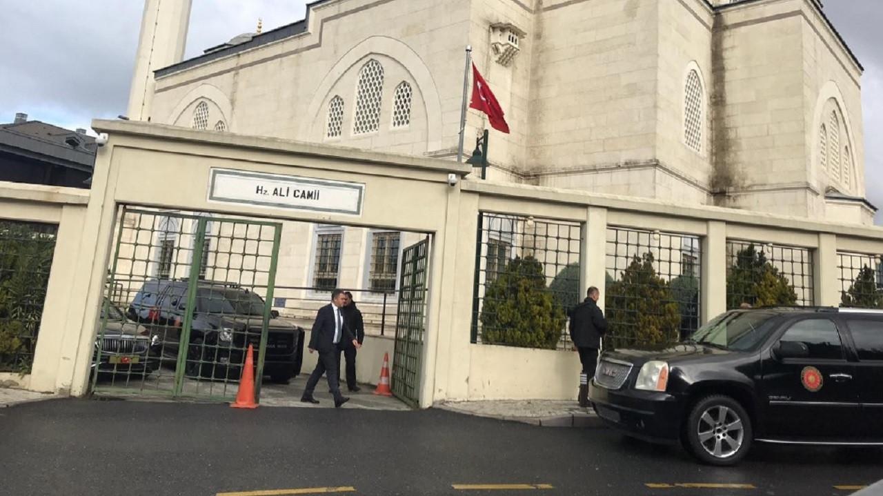 Erdoğan cuma namazını Hz. Ali Camii'nde kıldı
