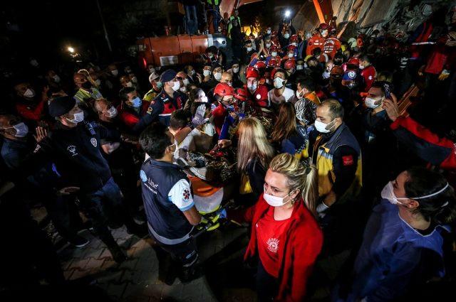 İzmir depremi son dakika: Can kaybı 58'e yükseldi