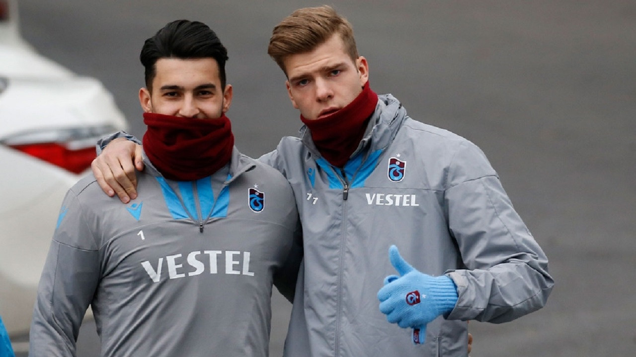 Trabzonspor'u Sörloth ve Uğurcan taşıyor