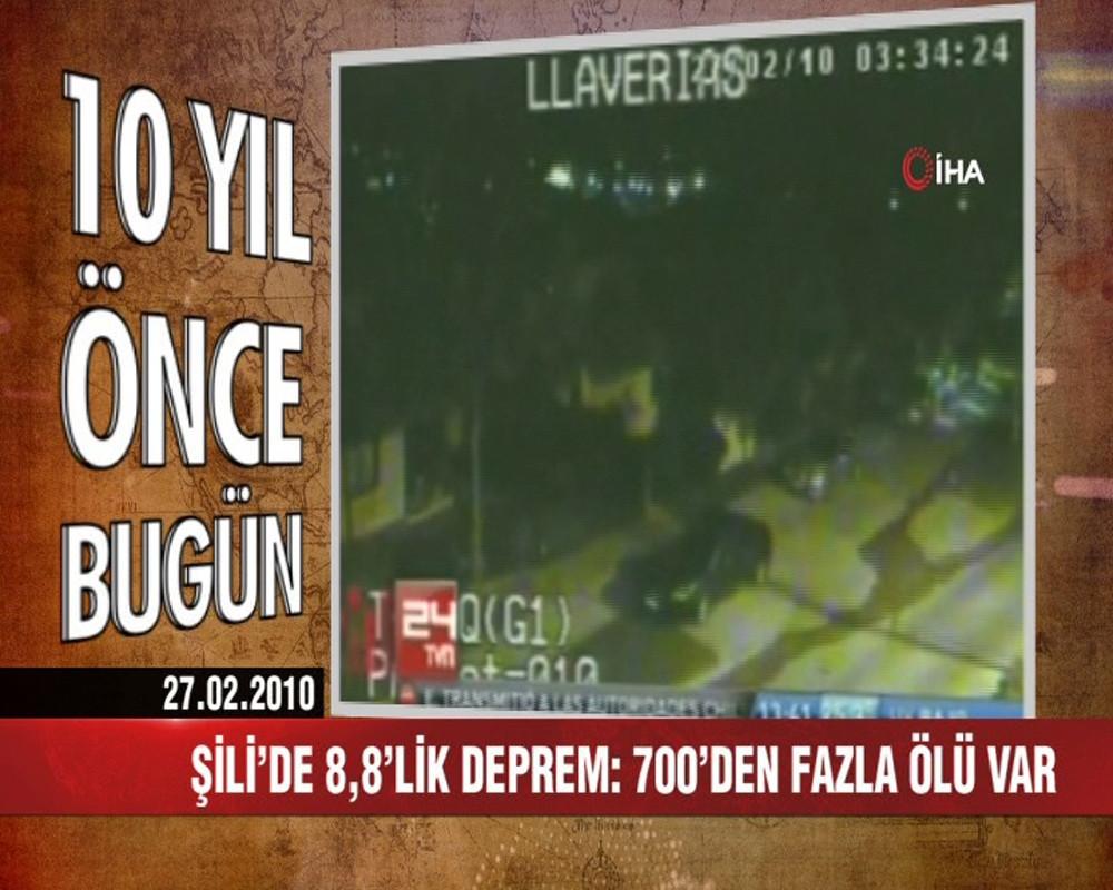 10 yıl önce bugün Türkiye'de neler oldu? 27 Şubat 2010 haberleri
