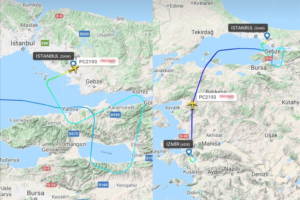 Son dakika: Kaza yapan uçağın radar ekran görüntüleri ortaya çıktı