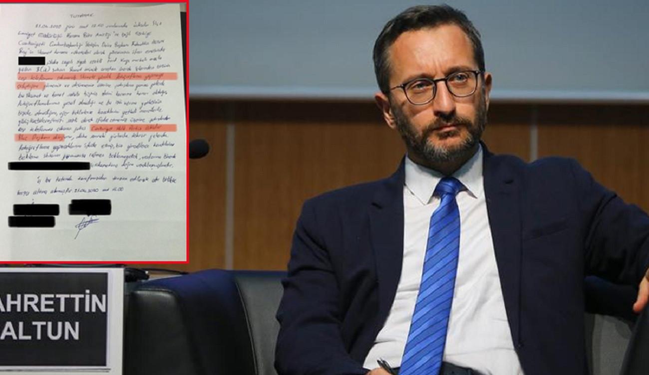 Fahrettin Altun'un evinin fotoğrafının çekildiği iddiasına soruşturma