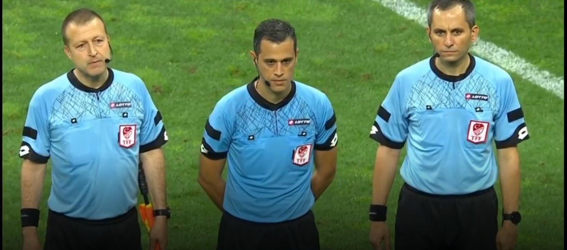 Galatasaray Gaziantep maçında hakem skandalı