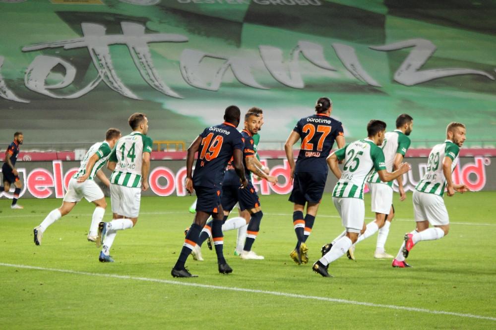 Konyaspor karşısında Başakşehir darmadağın oldu 4-3