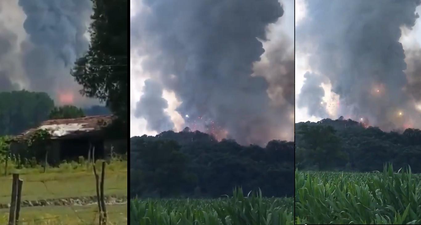 Sakarya'da Havai fişek fabrikası patladı: 4 ölü 97 yaralı